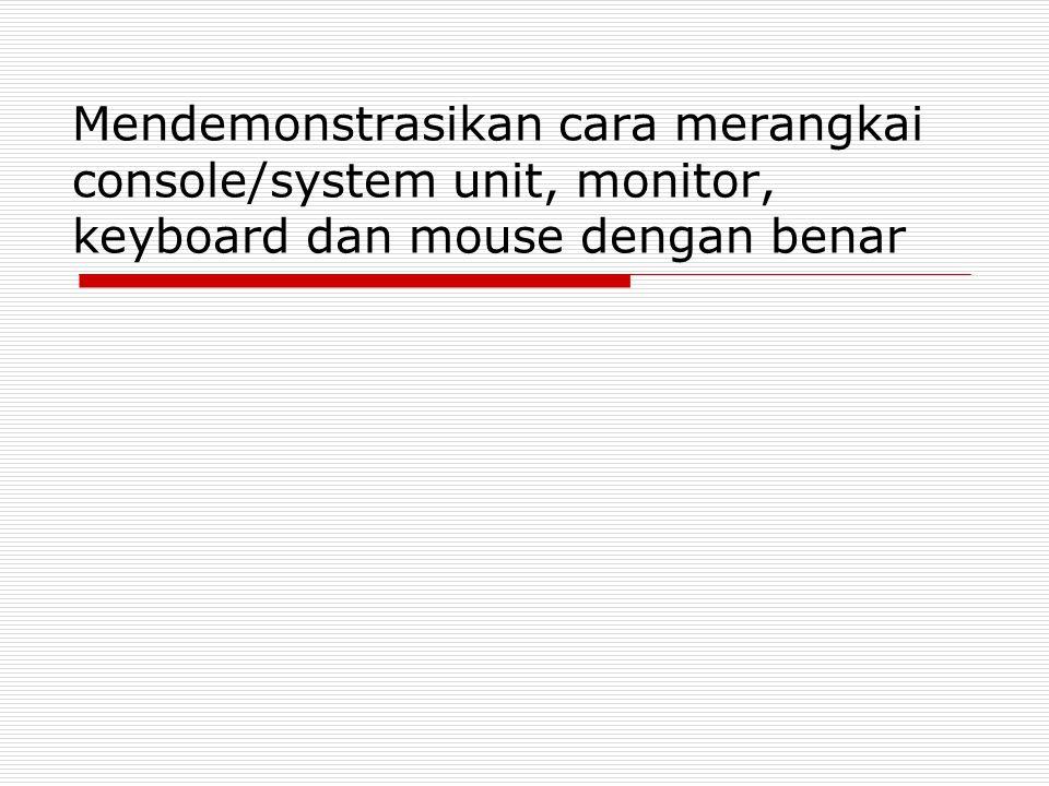 Fungsi dan jenis port yang terdapat pada console/system unit Pengertian  Port menurut bahasa Pangkalan  Port menurut istilah Tempat, saluran, tujuan.
