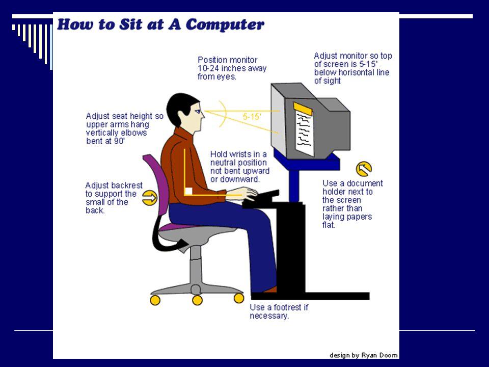 Posisi duduk di komputer yg salah