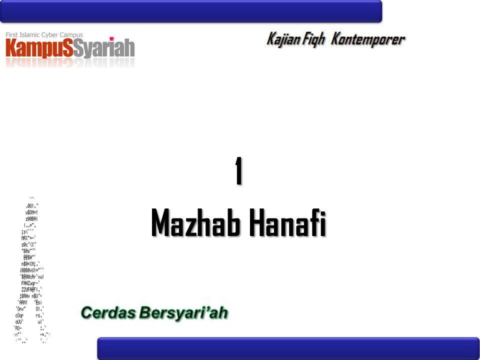 1 Mazhab Hanafi