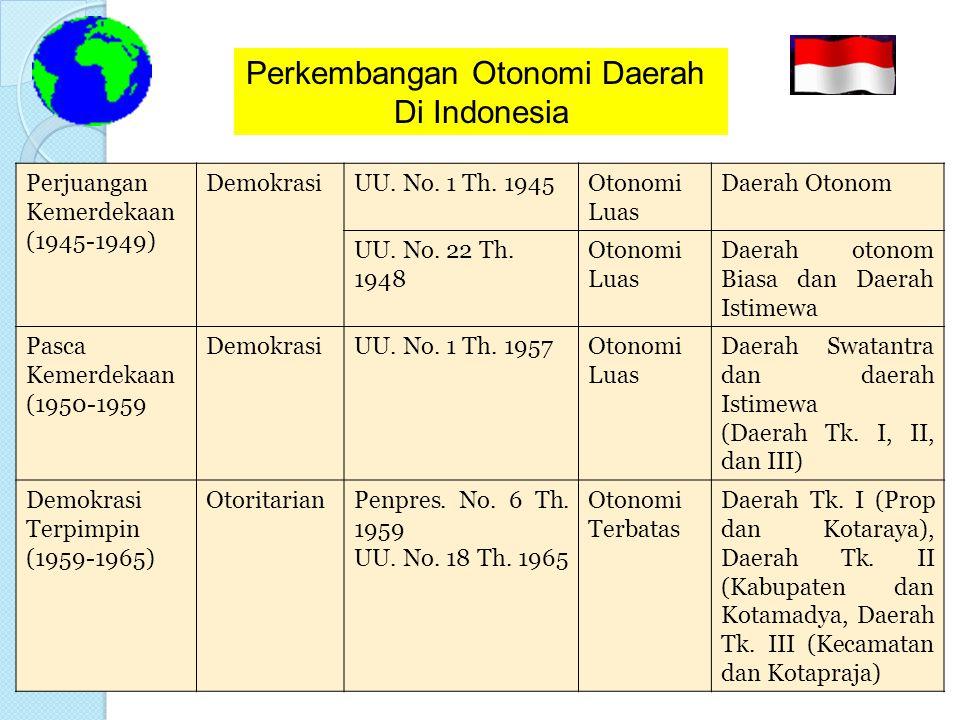 Unitary State  ALASAN MEMILIH DESENTRALISASI 1.