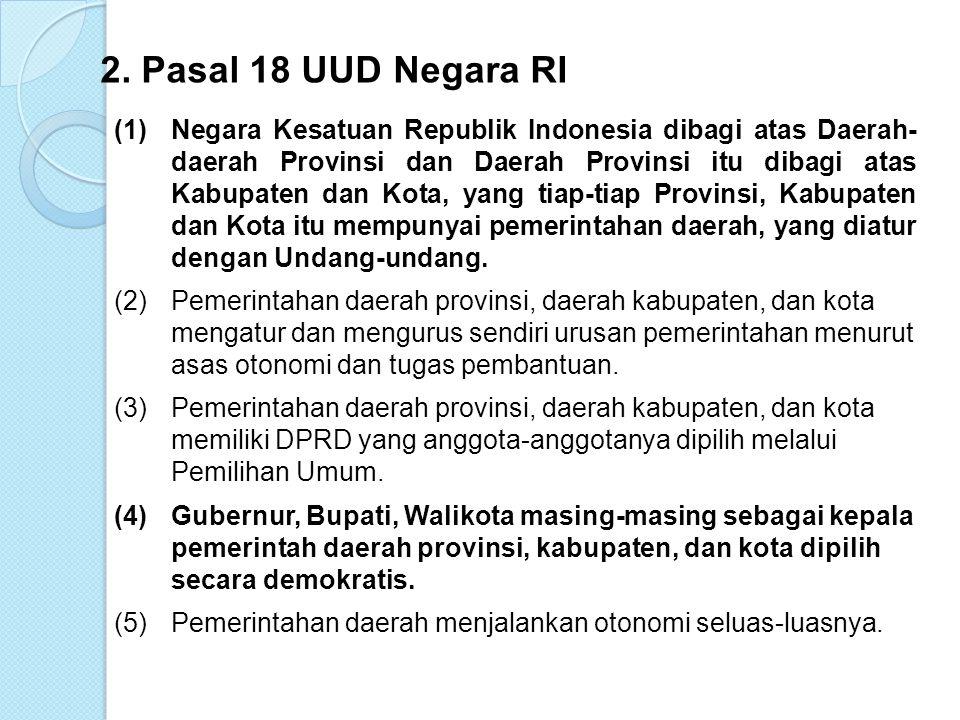 TATARAN NORMATIF:(UUD NEGARA RI 1945) 1.Alinea IV Pembukaan UUD Negara RI 1945 Kemudian daripada itu, untuk membentuk suatu Pemerintahan Negara Indonesia yang melindungi segenap bangsa Indonesia dan seluruh tumpah darah Indonesia dan untuk memajukan kesejahteraan umum, mencerdaskan kehidupan bangsa….