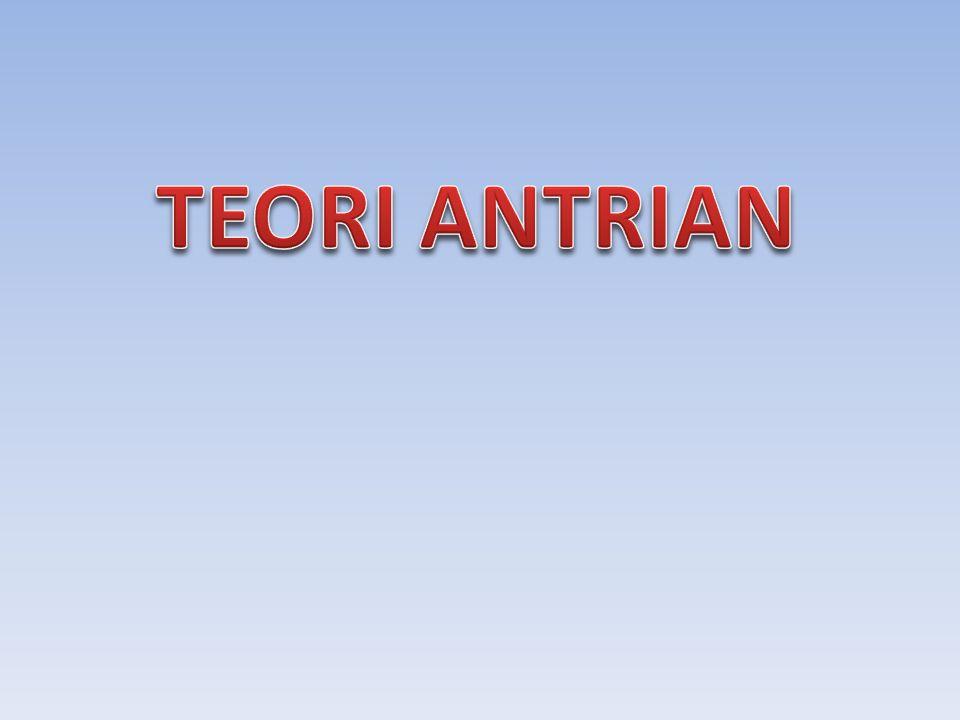 KOMPONEN : FASILITAS PELAYANAN / SERVER ANTRIAN POPULASI ANTRIAN O SERVER POPULASI