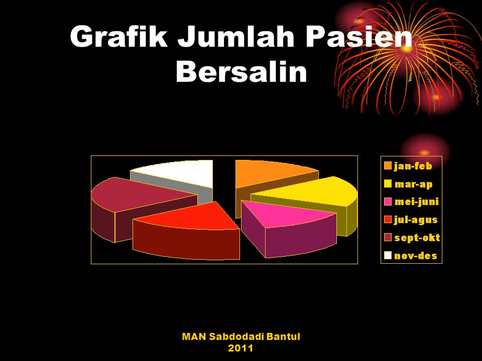 MAN Sabdodadi Bantul 2011 Grafik Jumlah Pasien Bersalin