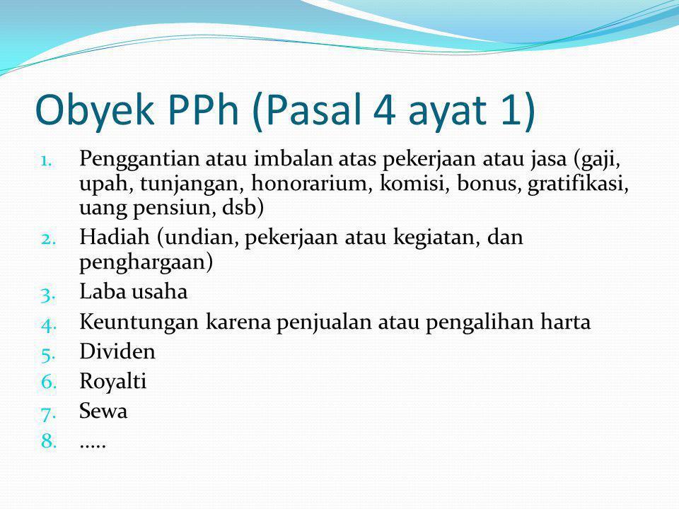Contoh PTKP Tn.Ridwan menikah dengan tanggungan 2 orang anak.