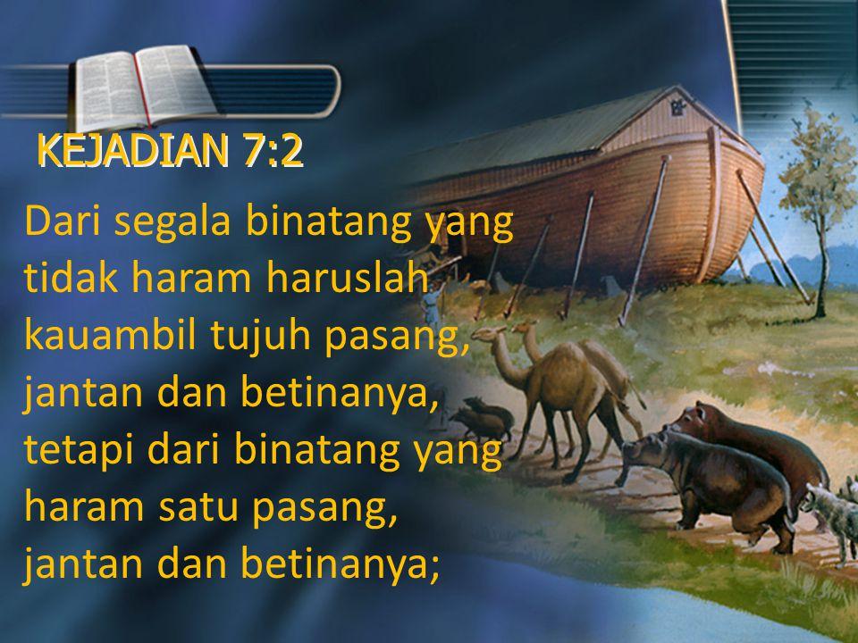 Allah Membedakan Binatang Halal dan Haram