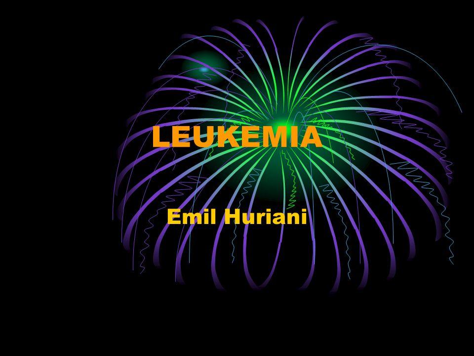 LEUKEMIA Emil Huriani