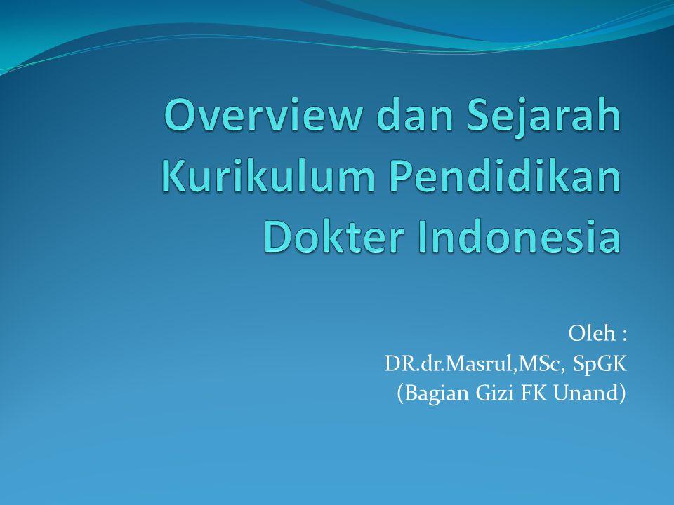 Oleh : DR.dr.Masrul,MSc, SpGK (Bagian Gizi FK Unand)