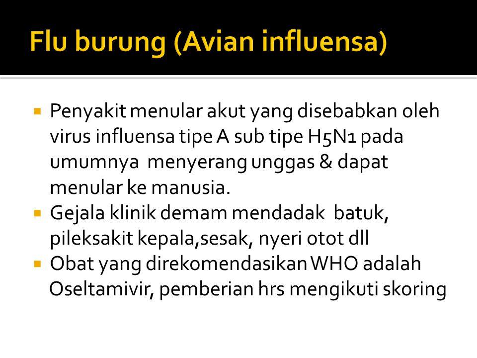 Saquinavir,ritonavir,indinavir  Sediaan : oral  Absorpsi saquinavir dan indinavir dipengaruhi makanan.  Indikasi : infeksi HIV, AIDS