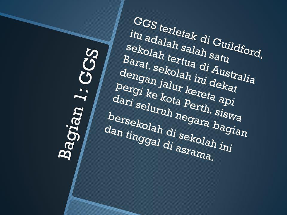 Selamat Datang di Guildford dan GGS! Di tulis oleh Nick B