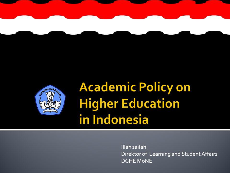 Illah sailah Direktor of Learning and Student Affairs DGHE MoNE