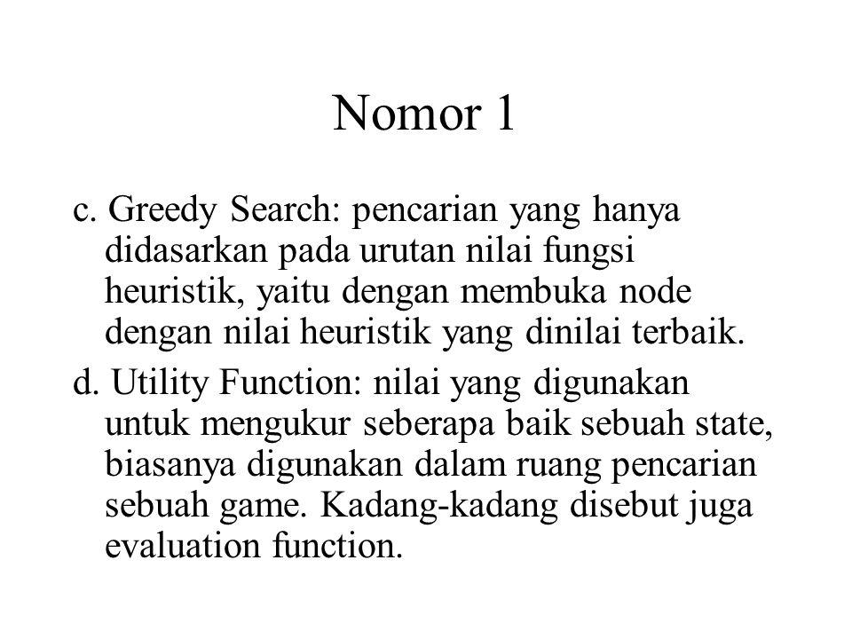 Nomor 1 c.