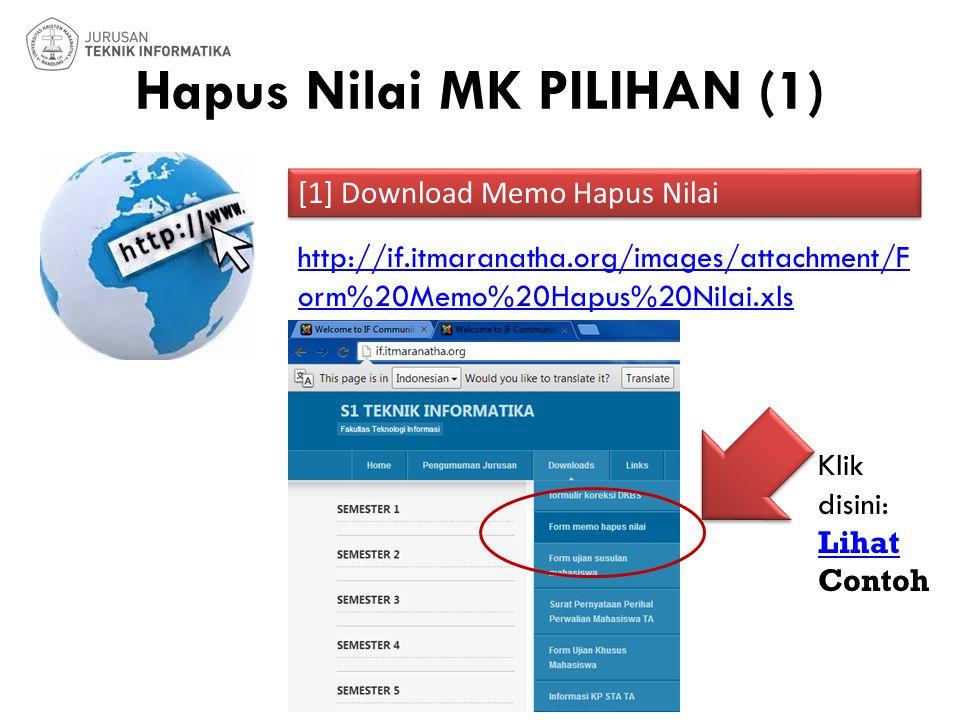 Hapus Nilai MK PILIHAN (1) [1] Download Memo Hapus Nilai Boleh di print seperti 