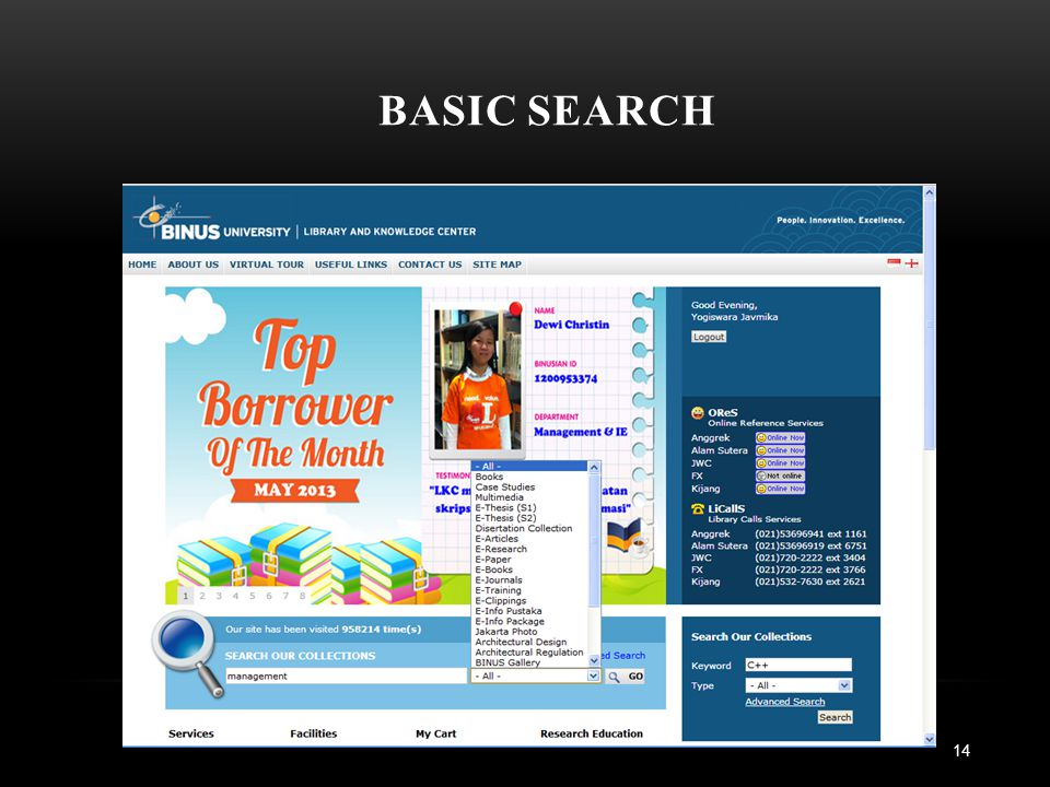 BASIC SEARCH 14