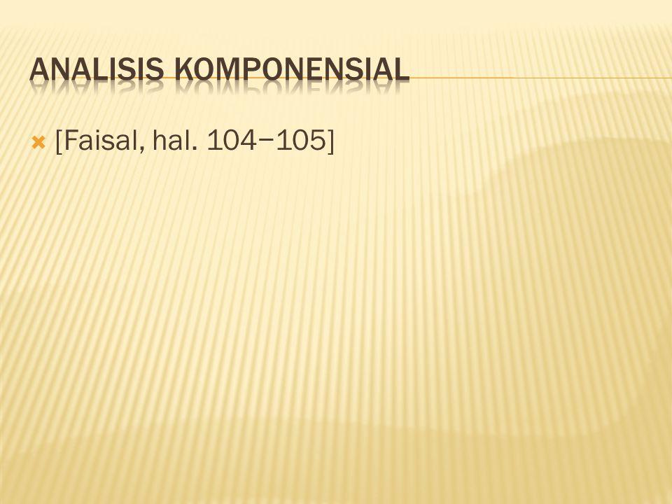  [Faisal, hal. 104−105]