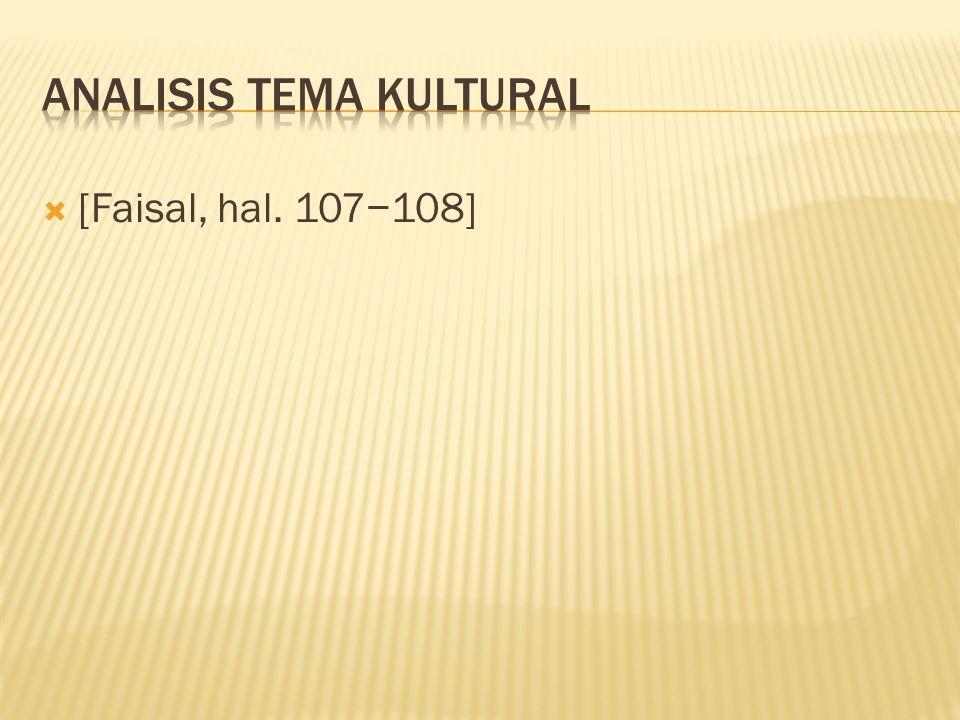  [Faisal, hal. 107−108]