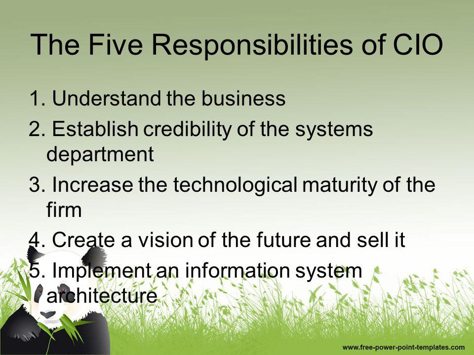 Tantangan cio Bisnis Berbasis Efisiensi Membangun Infrastruktur Informasi