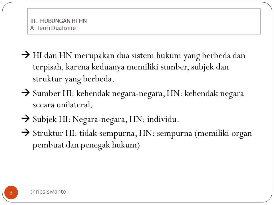 III.HUBUNGAN HI-HN A.