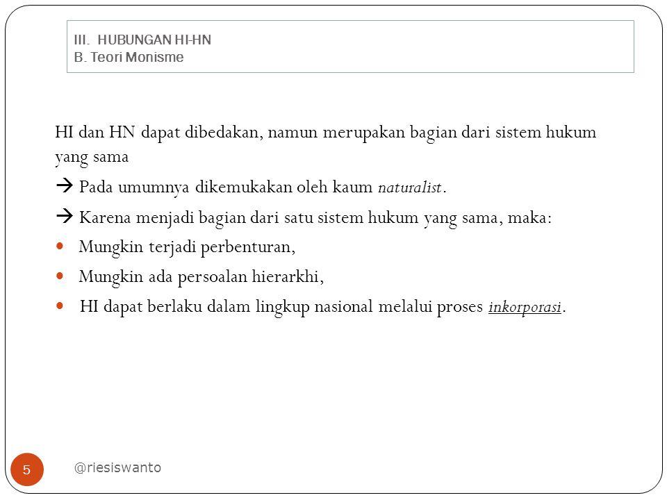 III.HUBUNGAN HI-HN B.