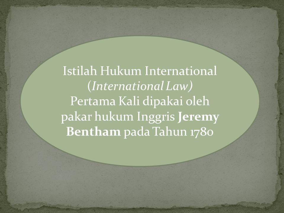 Hukum internasional telah mengatur bahwa di dalam kedaulatan terkait di dalamnya kewajiban untuk tidak menyalahgunakan kedaulatan tersebut.