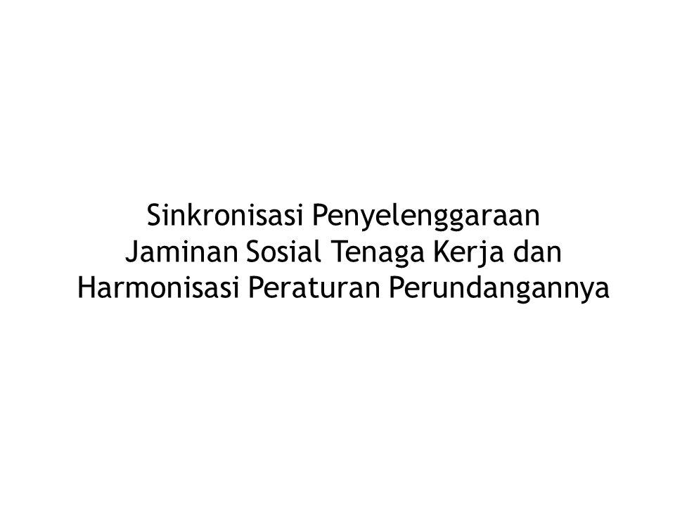 Program Jaminan Sosial Yang masih berjalan saat ini beserta peraturan perundangannya 1.Jaminan Kesehatan – UU 40/2004 SJSN & UU 3/1992 Jamsostek, Peraturan Perundangan ttg Askes.