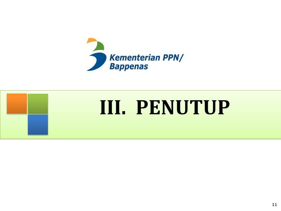 III. PENUTUP 11