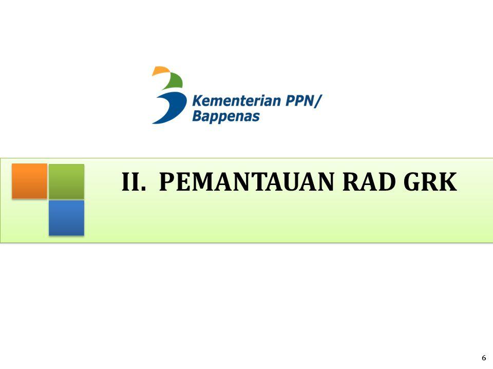 Dasar Penyusunan PEP RAD-GRK 1.PEP mengacu kepada ; a.PP 39/2006 tentang Tata Cara Pengendalian dan Evaluasi Pelaksanaan Rencana Pembangunan b.PP 8/2008 tentang Tahapan, Tata Cara Penyusunan, Pengendalian dan Evaluasi Pelaksanaan Rencana Pembangunan Daerah c.Permendagri 54/2010 tentang Pelaksanaan PP No 8/2008 2.Format laporan berupa tabel yang terdiri dari : a.Lembar Umum Aksi Mitigasi, b.Rencana dan Realisasi Anggaran Kegiatan Mitigasi c.Rekapitulasi Capaian Penurunan Emisi 7