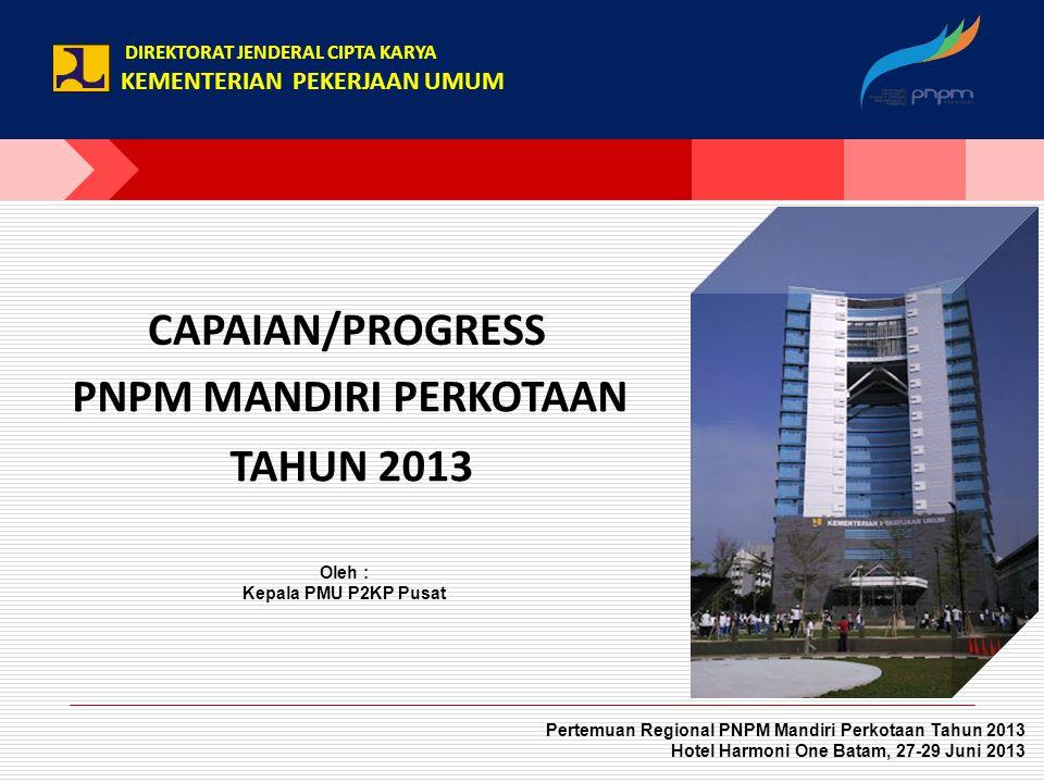 Isi Paparan : 1.Pelaksanaan Siklus PM (Pemberdayaan Masyarakat) 2.Capaian KPI (Key Performance Indicator) 3.Progres Pencairan BLM TA.