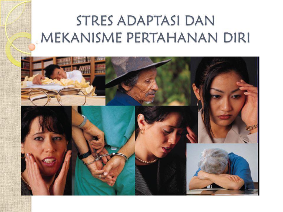 STRES & ADAPTASI Modernisasi & kemajuan teknologi membawa perubahan dlm cara berpikir & pola hidup masyarakat.