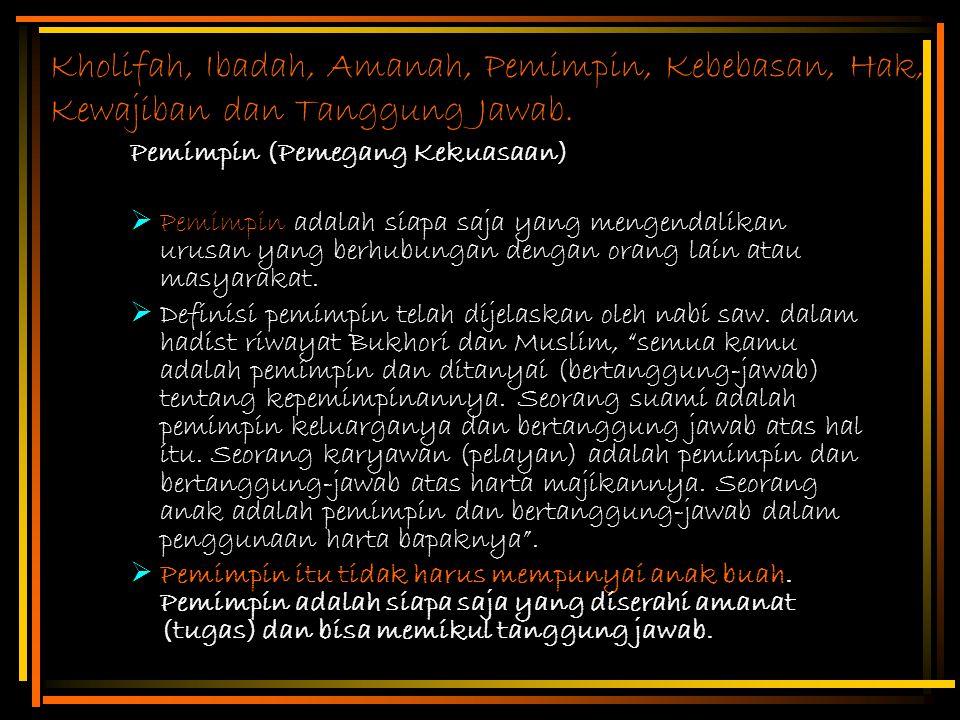 Profesional Dalam Islam Ciri-ciri profesi a.Pengetahuan khusus :  Penguasaan teori.