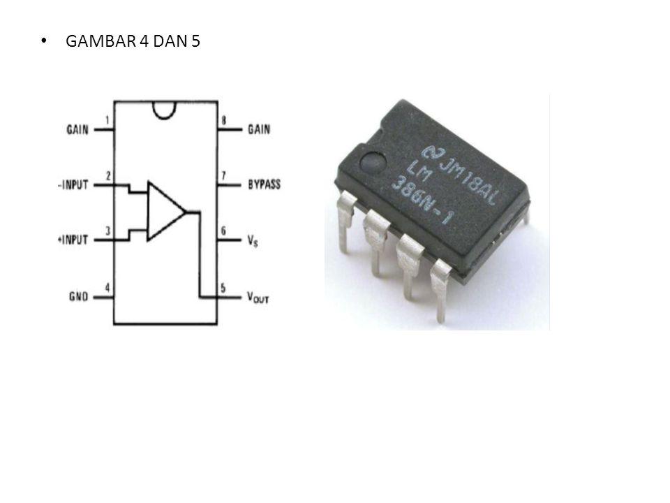  IC LM 3914 / IC LM 3915 IC LM 3914N yang berfungsi sebagai driver ditunjukkan pada gambar 6.