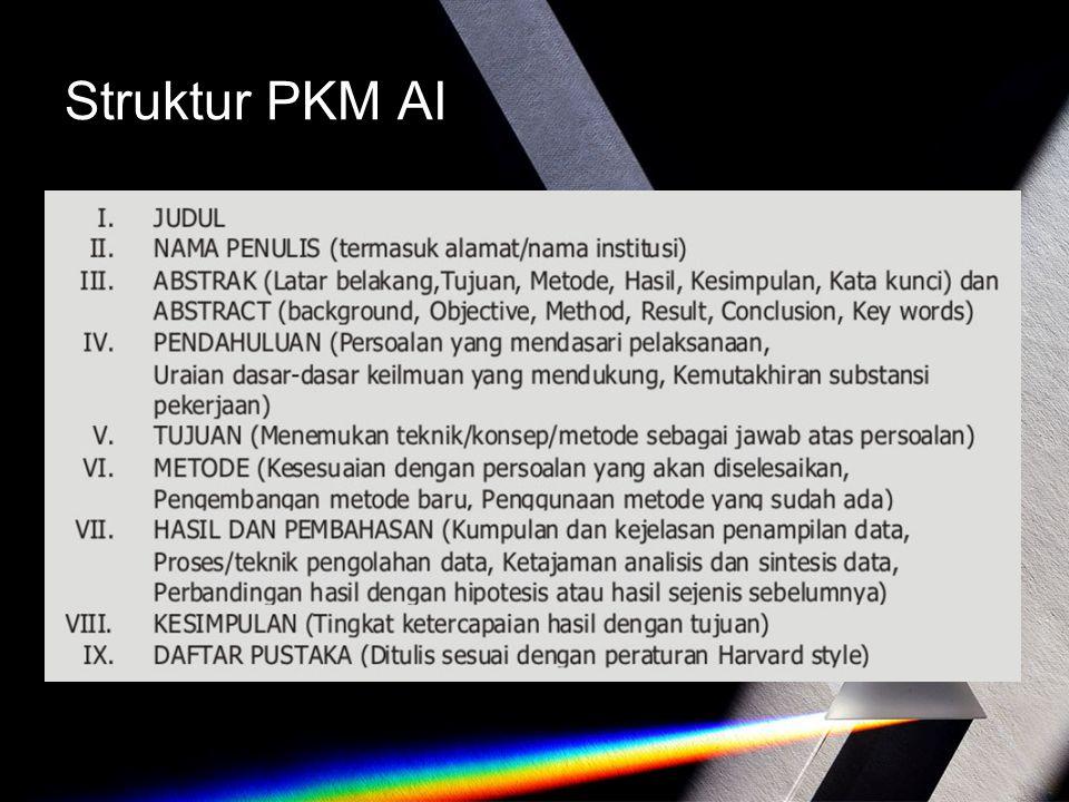 Struktur PKM AI