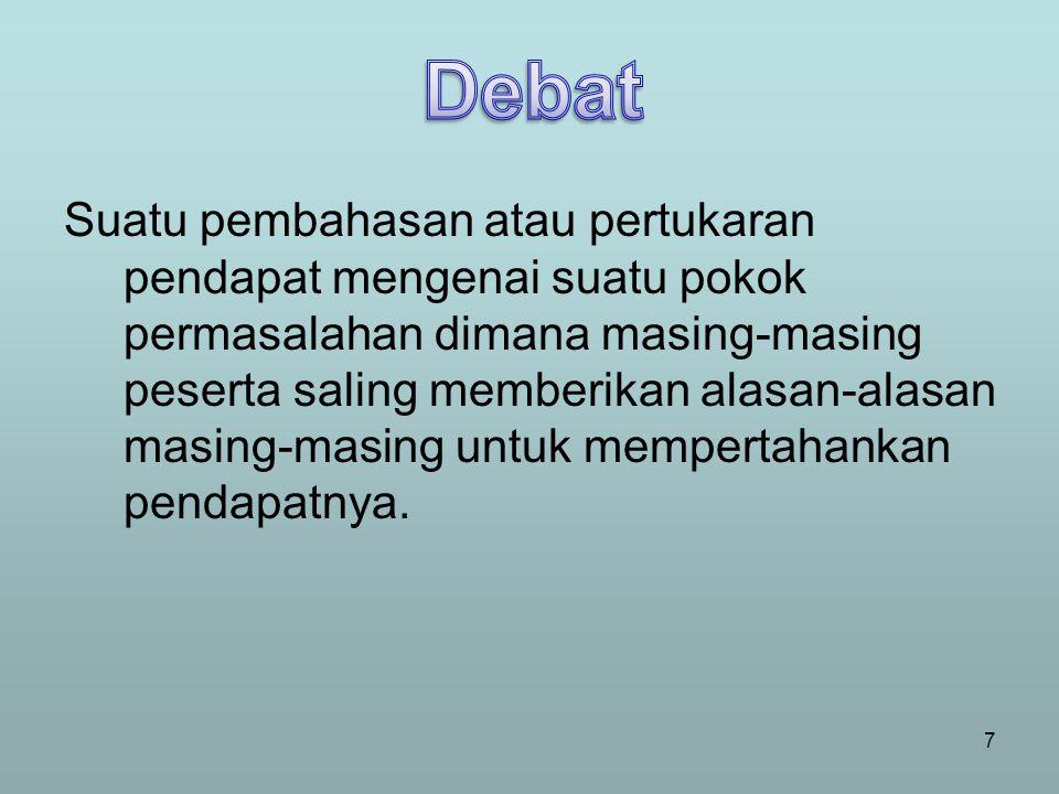 Pertemuan para wakil organisasi (politik, sosial, profesi) untuk berpikir bersama dan mengambil keputusan mengenai suatu masalah.