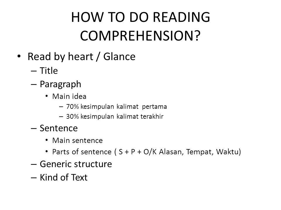 How to study Grammar well.Parts of speech: Bagian dari kalimat / ungkapan.