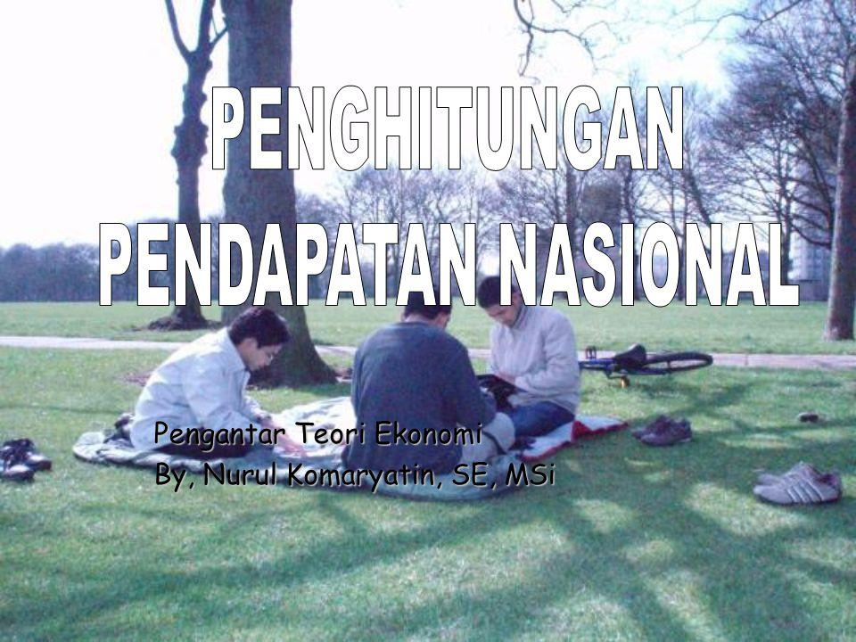 Pengantar Teori Ekonomi By, Nurul Komaryatin, SE, MSi