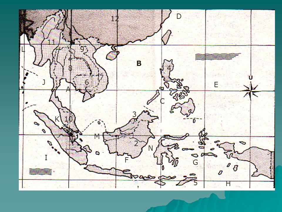 Bentang Budaya Asia Tenggara PPPPola bentang budaya di kawasan Asia Tenggara dibedakan menjadi 2, yaitu daerah pedesaan dan daerah perkotaan.