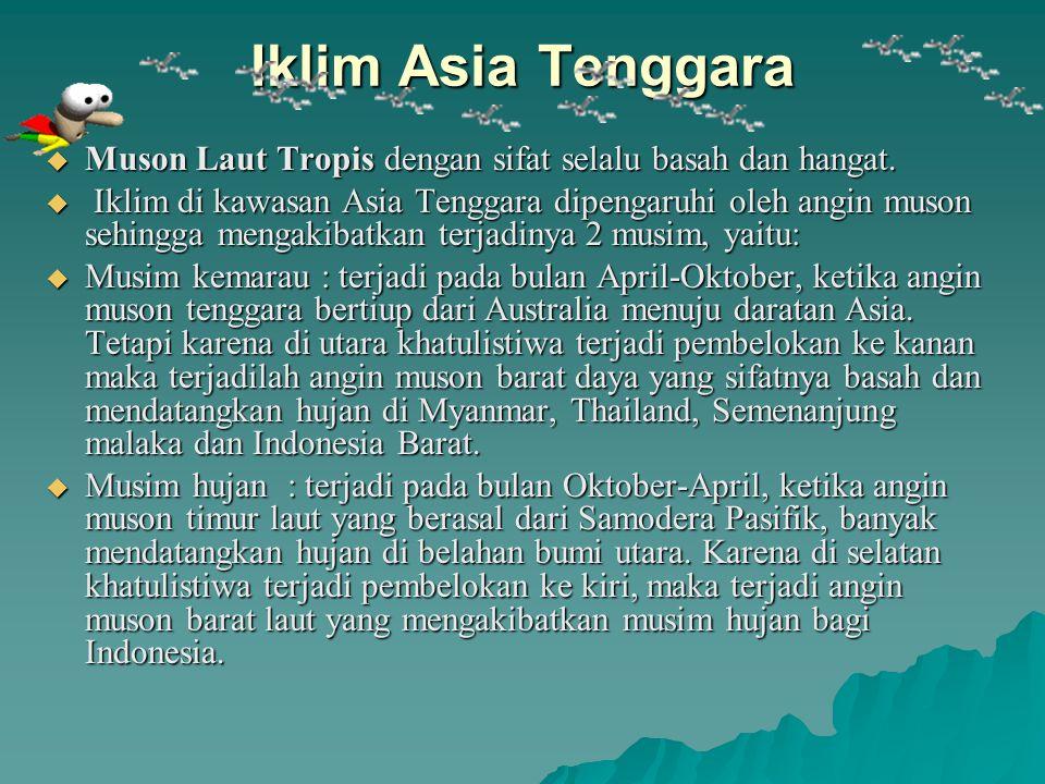 Batas Wilayah  Sebelah utara : Benua Asia dan Samodera Pasifik  Sebelah Selatan: Samodera Hindia  Sebelah Timur : Samodera Pasifik dan Papua Nugini