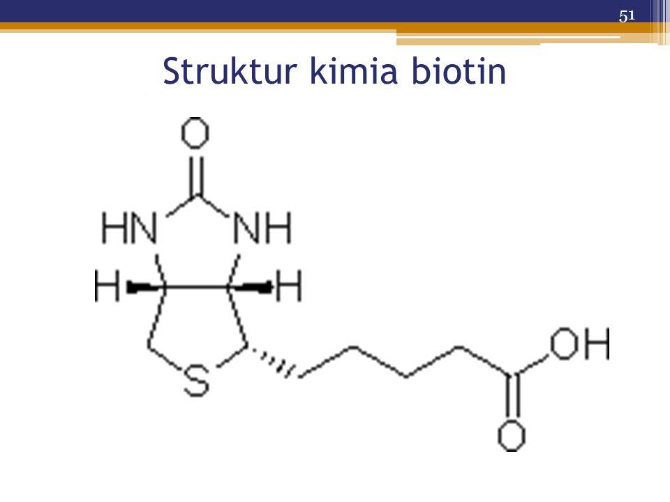 Struktur kimia biotin 51