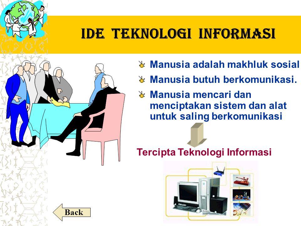 Pengertian Teknologi Teknologi alat Teknologi adalah suatu alat yang mampu untuk mempermudah atau memperlancar suatu pekerjaan.