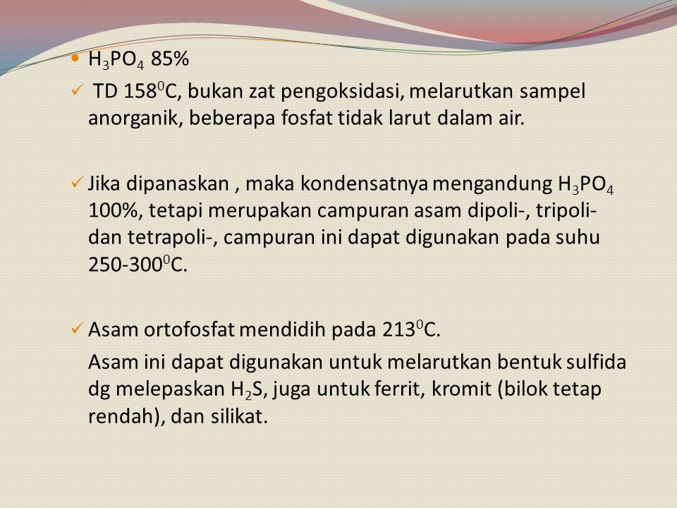 C.Campuran asam. 1.