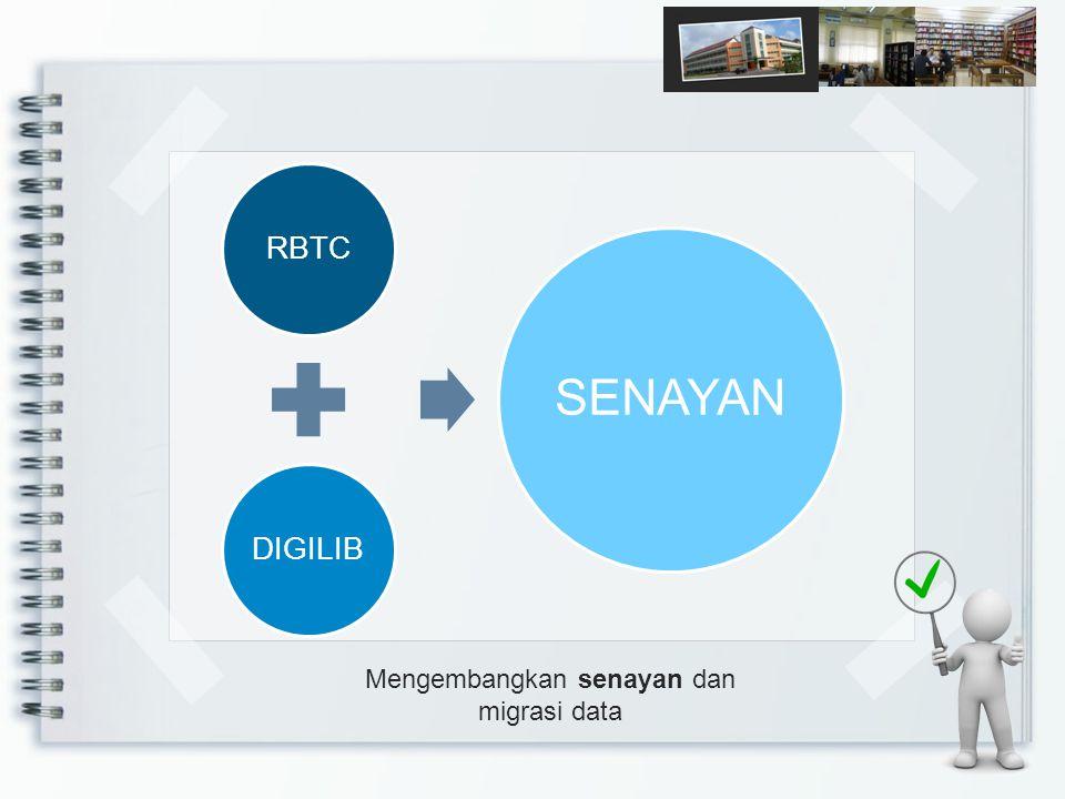 Mengembangkan senayan dan migrasi data RBTCDIGILIB SENAYAN