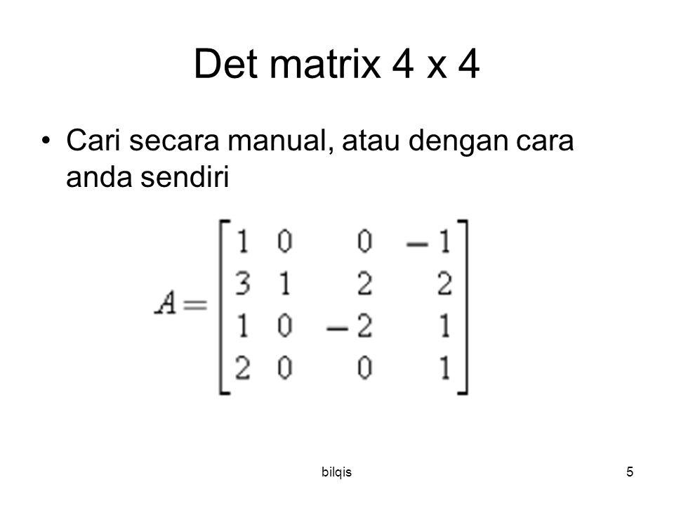 bilqis4 Determinan  MatLab