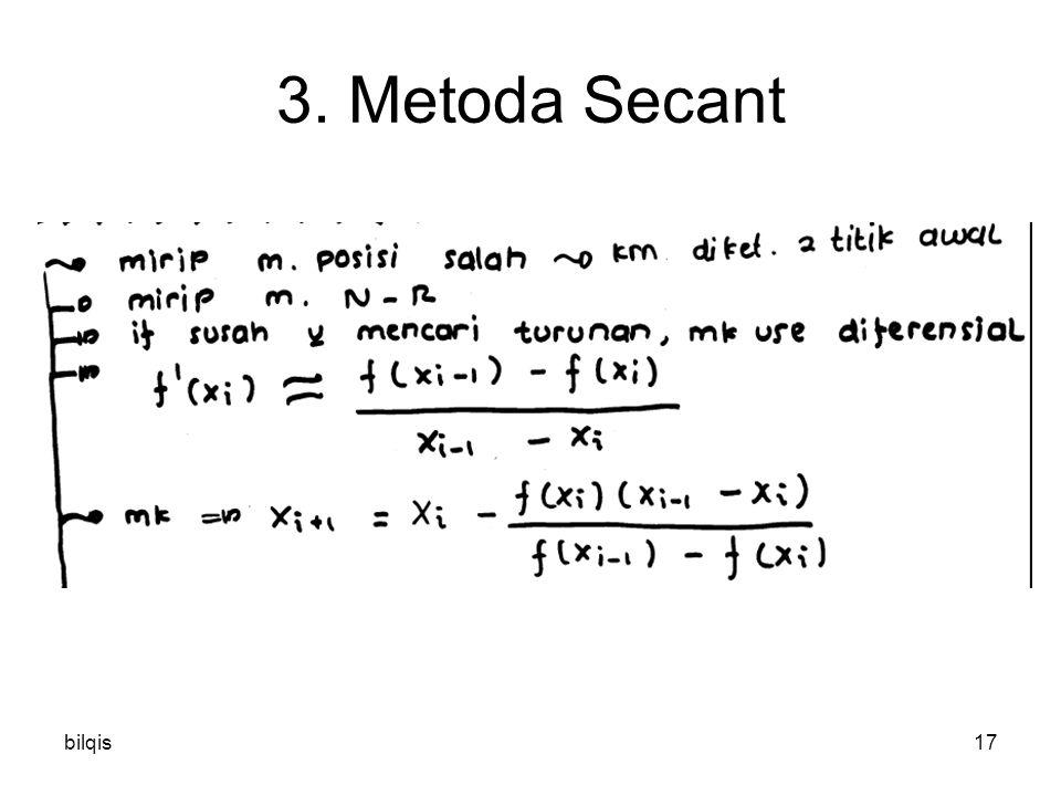 bilqis17 3. Metoda Secant