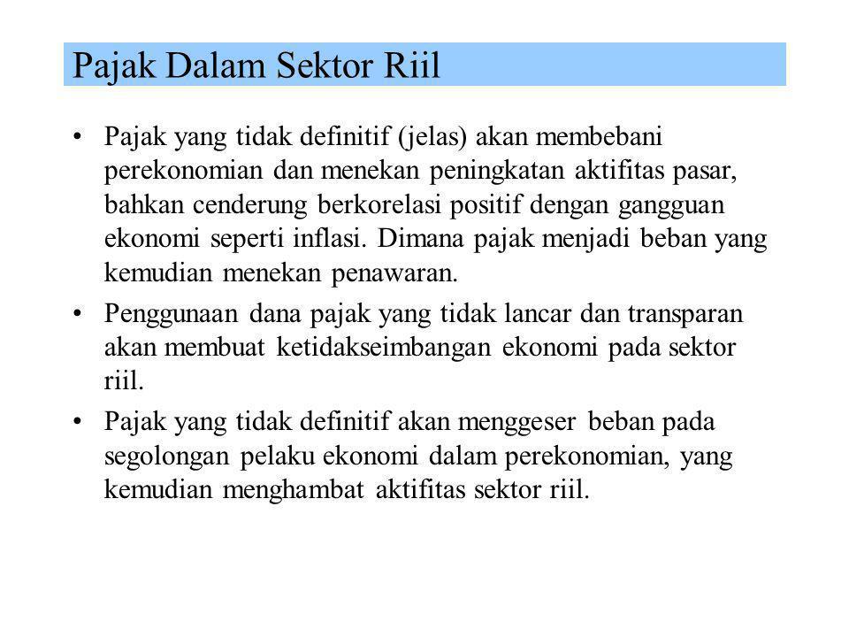Pelarangan Riba Dalam Sektor Riil Absensi Riba dalam perekonomian (sektor riil) mencegah penumpukan harta pada sekelompok orang, dimana hal tersebut b