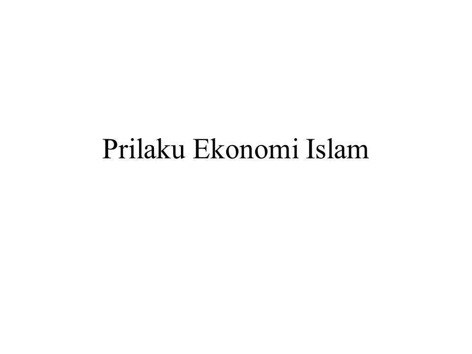 Prinsip Ekonomi Islam Ekonomi Islam sepatutnya dilihat dalam satu kesatuan ilmu, tidak sepenggal-sepenggal. Dengan begitu akan jelas terlihat bentuk b