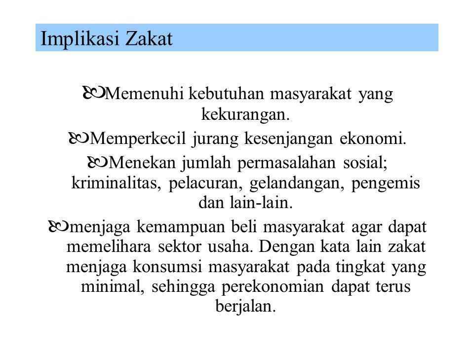 Mekanisme Zakat  KARAKTERISTIK Zakat merupakan ketentuan yang wajib dalam sistem ekonomi (obligatory zakat system), sehingga pelaksanaannya melalui i
