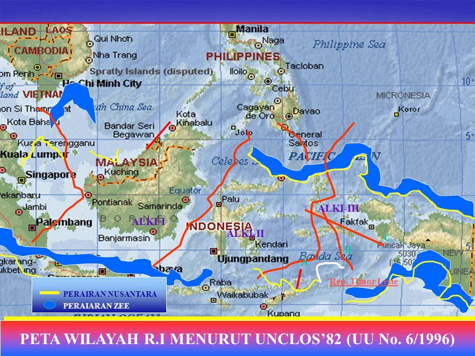 GEOPOLITIK INDONESIA Sejarah Hukum Laut Konsep berkembang setelah teknologi kapal & pelabuhan Inggris & Belanda mengungguli teknologi perkapalan Spany