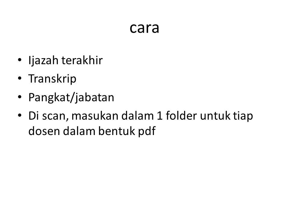 Sistem Informasi Pengembangan Karir Dosen (SIPKD) DIKTI mencanangkan pelaksanaan Sistem Informasi Pengembangan Karir Dosen (SIPKD) kepada seluruh perguruan tinggi di Indonesia sebagai penyempurnaan pelaksanaan program Beban Kerja Dosen (BKD).