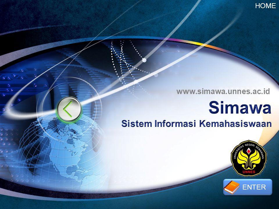 LOGO www.simawa.unnes.ac.id HOME ENTER