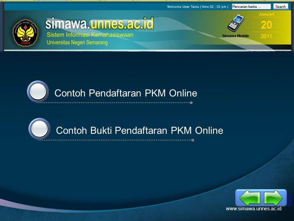 LOGO d 3 Pendaftaran Akun Mahasiswa www.simawa.unnes.ac.id 3. Isikan data-data diatas sesuai dengan data sikadu