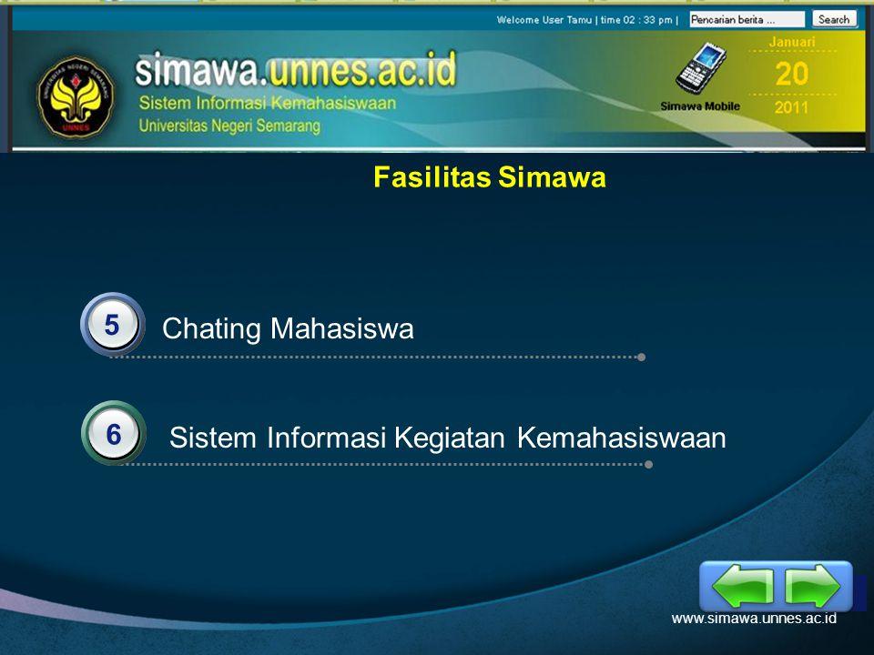 LOGO Pendaftaran Akun Mahasiswa www.simawa.unnes.ac.id 1.